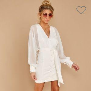 White DO+BE Life of Luxury Dress
